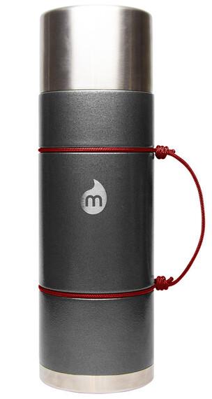 MIZU V10 Insulated Bottle 1000ml Gray Hammer Paint